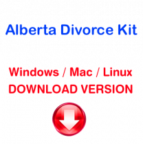 Alberta Divorce Kit (download version)
