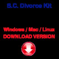 British Columbia Divorce Kit (download version)