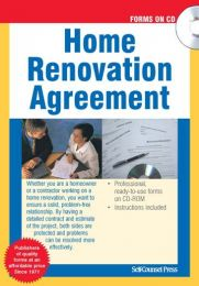 Home Renovation Agreement (CD)