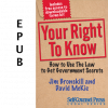 Your Right To Know (EPUB)