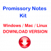 Promissory Notes Kit (download version)