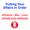 Putting Your Affairs in Order (download version)
